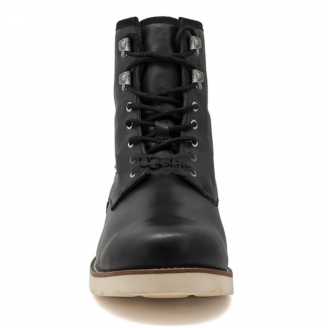 MENS Hannen Black (White Sole).  №4