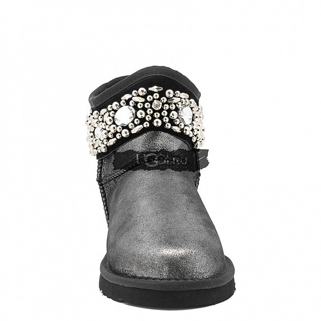 Jimmy Choo Multicrystal Glitter Black.  №3