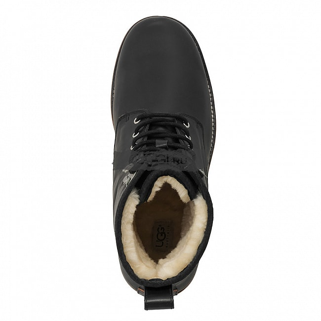 MENS Hannen Black (White Sole).  №3