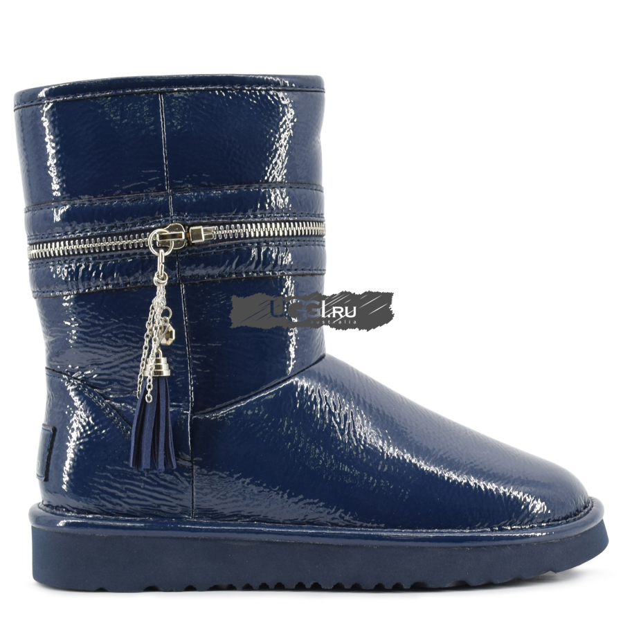Jimmy Choo Zipper Navy