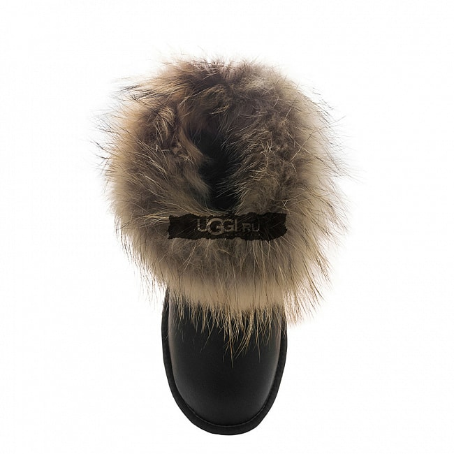 Fox Fur Mini Metallic Grey.  №4