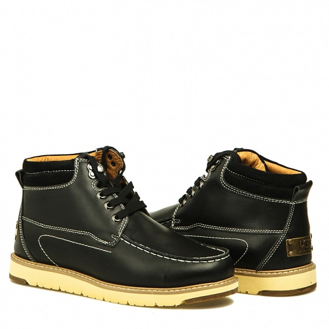 MENS Beckham II Metallic Black.  №4
