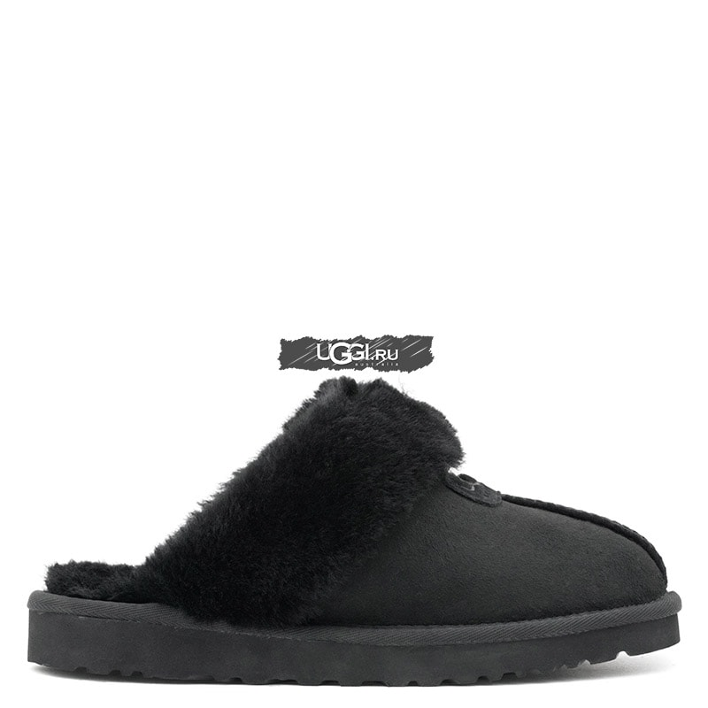 Slipper Scufette Black