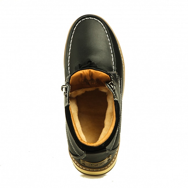 MENS Beckham II Metallic Black.  №6