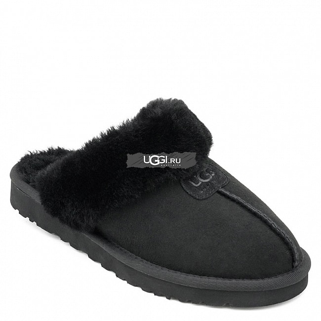 Slipper Scufette Black.  №2