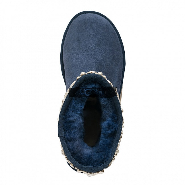UGG Jimmy Choo Multicrystal Navy.  №4
