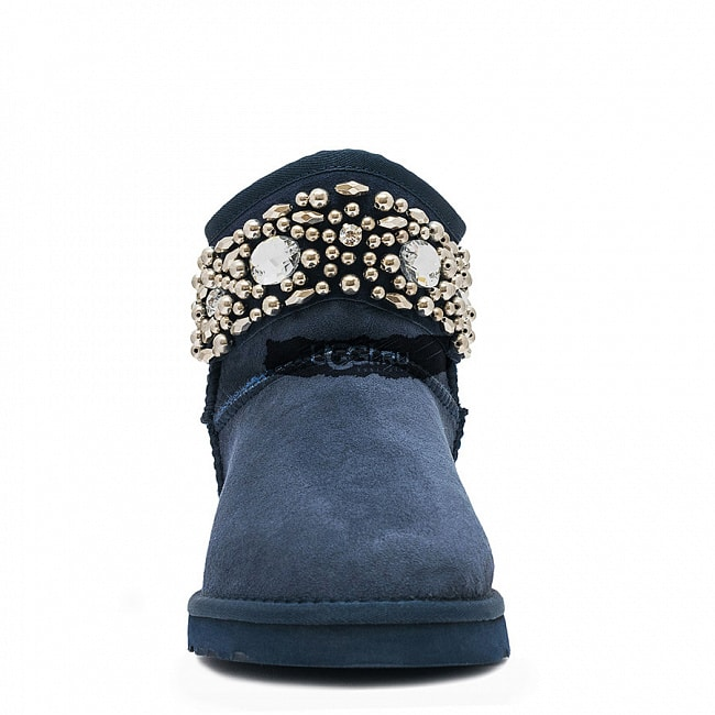 UGG Jimmy Choo Multicrystal Navy.  №3
