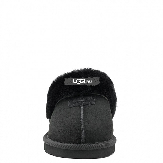 Slipper Scufette Black.  №3