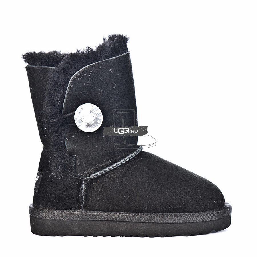 KIDS Bailey Button Bling Black