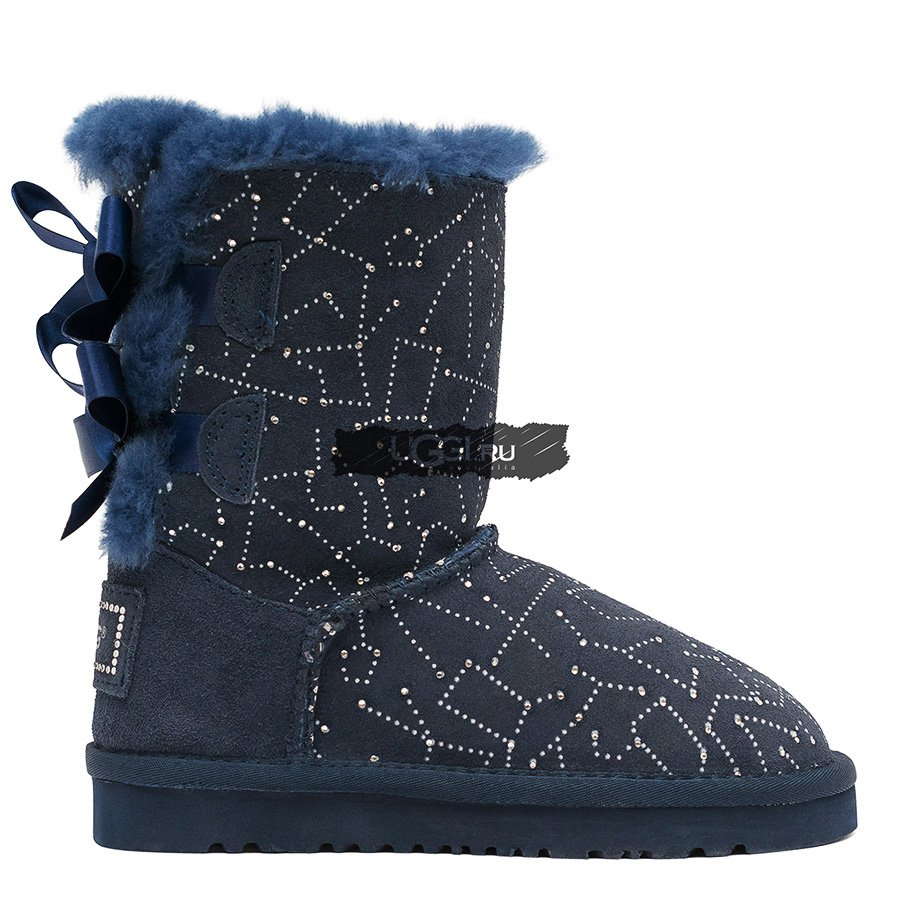 KIDS Bailey Bow Constellation Navy акция