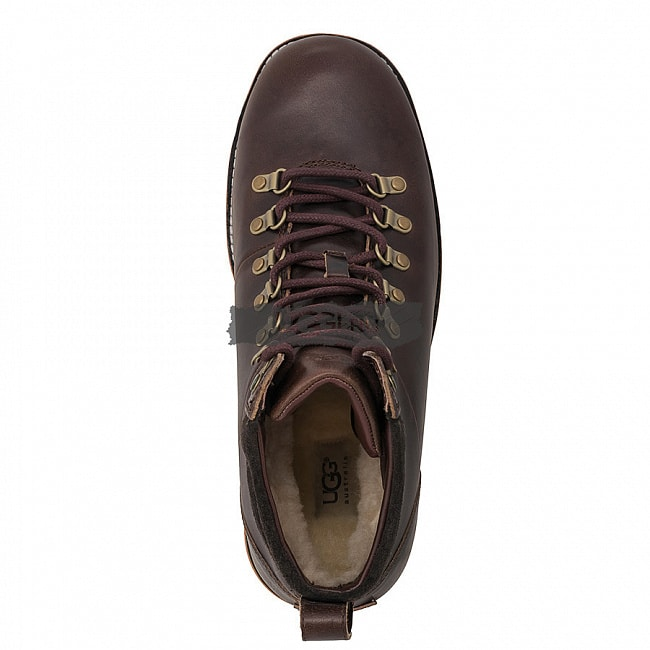 MENS Capulin Chocolate (White Sole).  №4