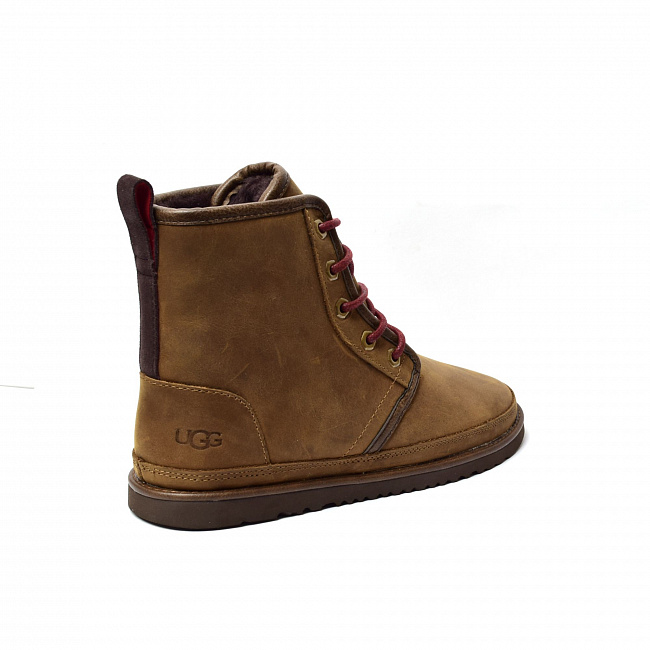 MENS Harkley Waterproof Boot Chocolate.  №3