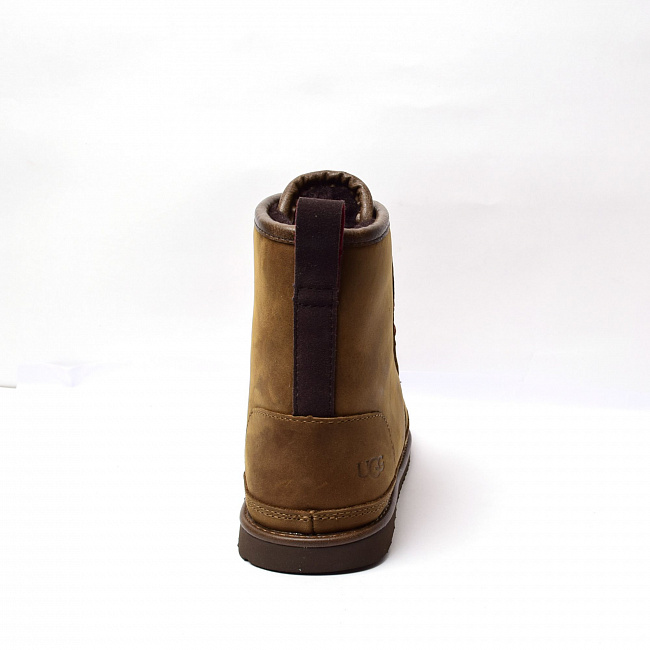 MENS Harkley Waterproof Boot Chocolate.  №5