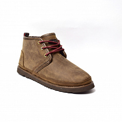 MENS Neumel Waterproof Boot Chocolate