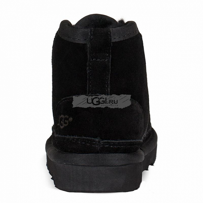 KIDS Neumel Boots Black.  №4