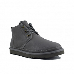 MENS Neumel Boots Metallic Grey
