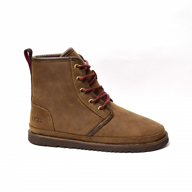 MENS Harkley Waterproof Boot Chocolate.  №6