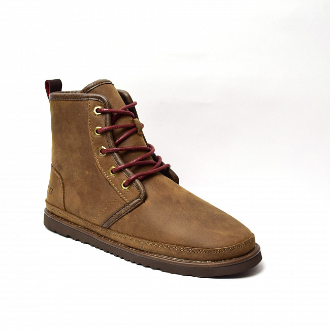 MENS Harkley Waterproof Boot Chocolate.  №2