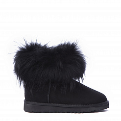 Fox Fur Mini Total Black