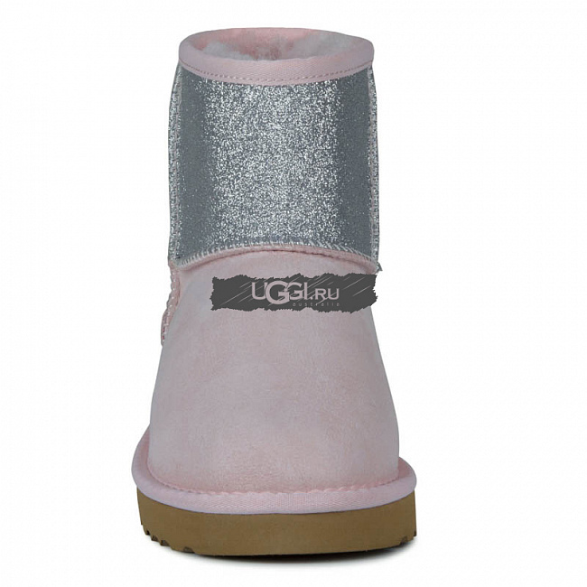 Classic Mini Sparkle Boot Pink.  №3