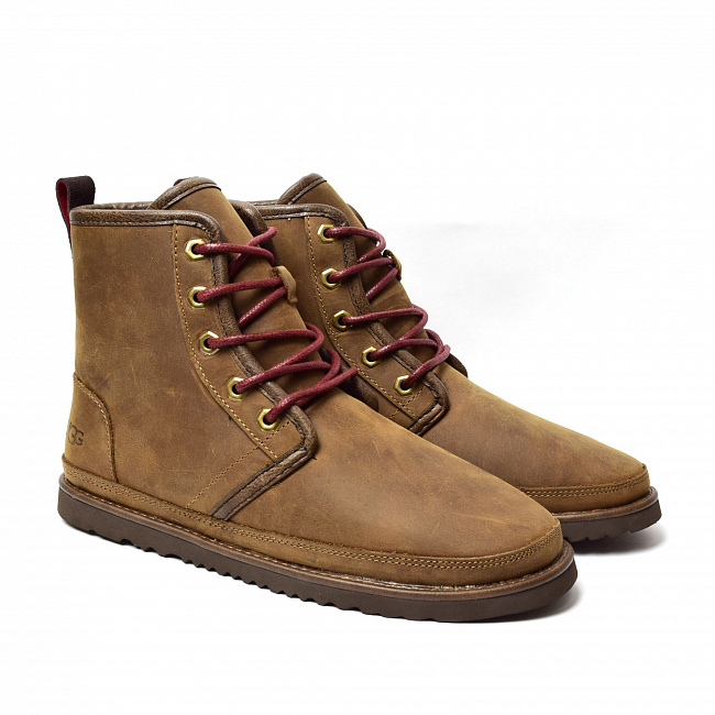 MENS Harkley Waterproof Boot Chocolate.  №4
