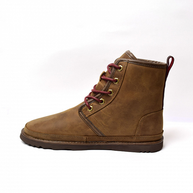 MENS Harkley Waterproof Boot Chocolate.  №7