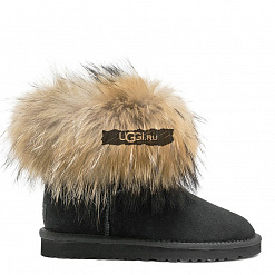 Fox Fur Mini Black 1