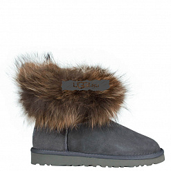 Fox Fur Mini Grey 1