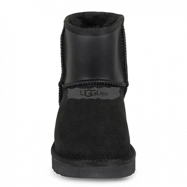 Classic Mini Ugg Ruber Boot Black.  №4