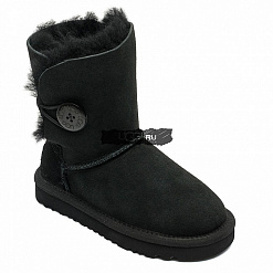 KIDS Bailey Button Black